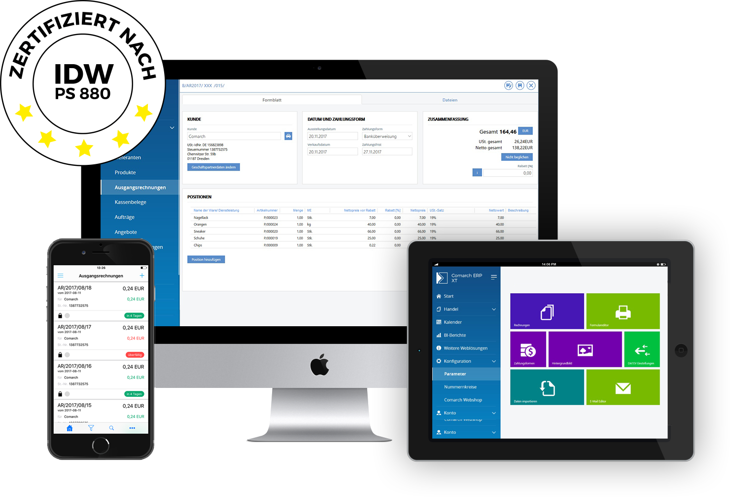 Comarch ERP XT multi app